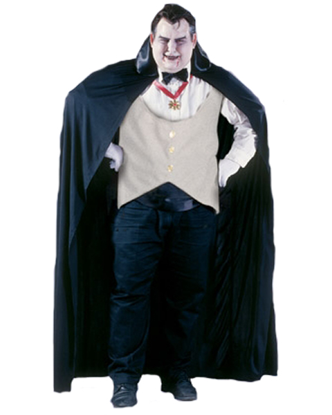 Mens Plus Size Dracula Costume