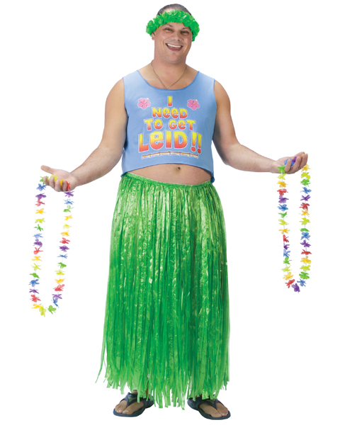 Plus Size Need To Get Leid Costume