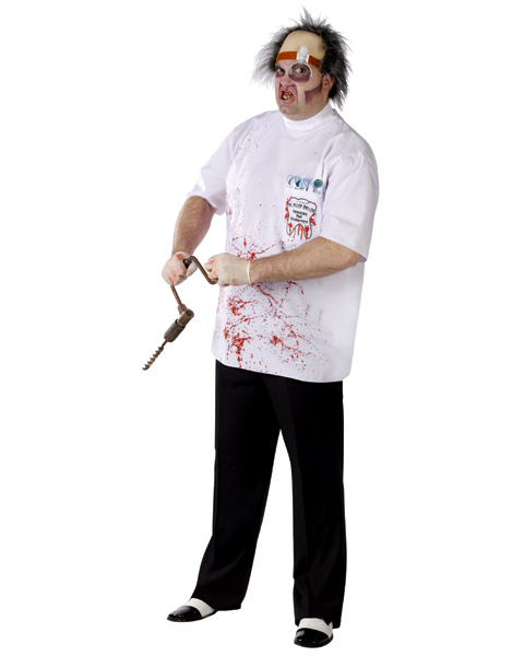Dr. Killer Driller Dentist Plus Size Costume