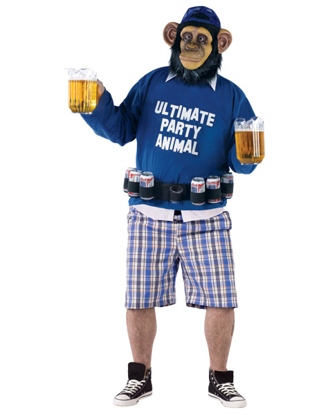 Ultimate Party Animal Plus Size Costume