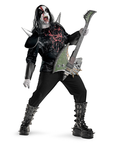 Mens Metal Mayhem Plus Costume
