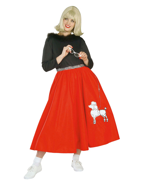 50s Poodle Babe Adult Plus Costume