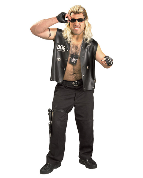 Dog the Bounty Hunter Plus Size Costume for Men