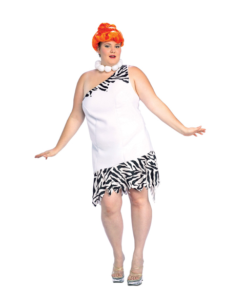 Wilma Flintstone Plus Size Adult Costume