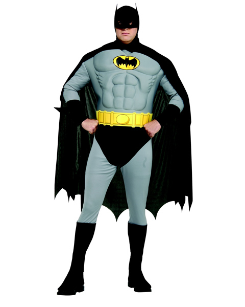 Muscle Chest The Batman Costume Plus Costume
