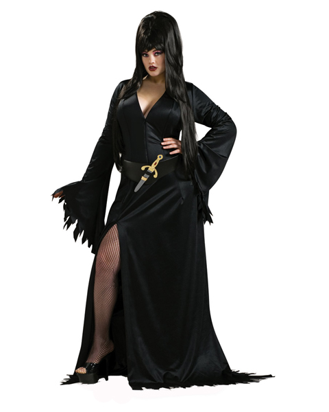 Plus Size Elvira Costume