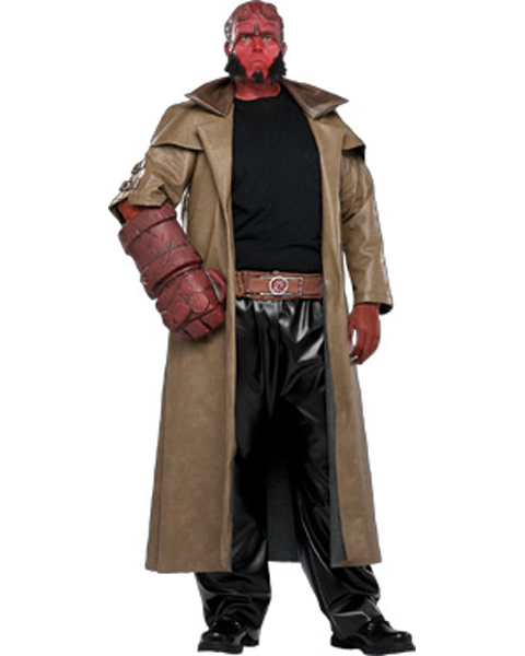 Hellboy Costume For Adult