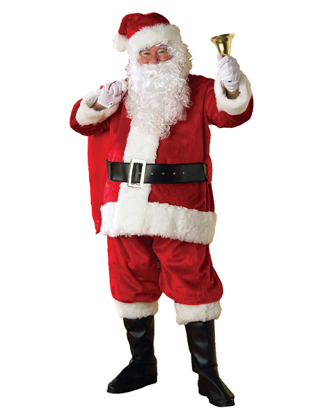 Extra Large Regency Santa Suit Costume