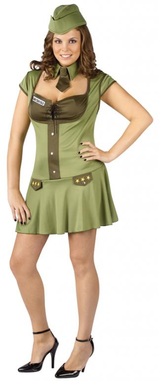 Major Trouble Plus Size Costume