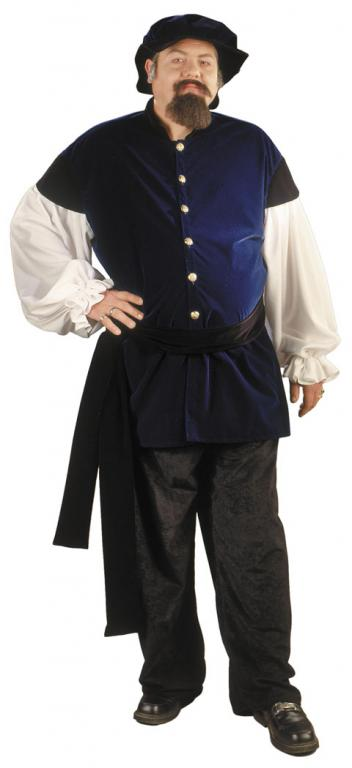 Renaissance Merchant Plus Size Adult Costume