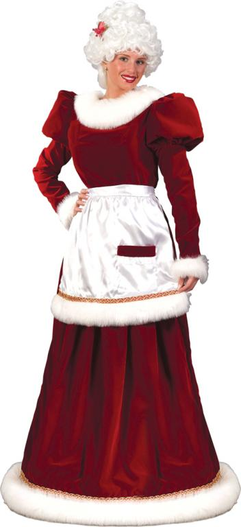 Mrs Claus Plus Size Costume