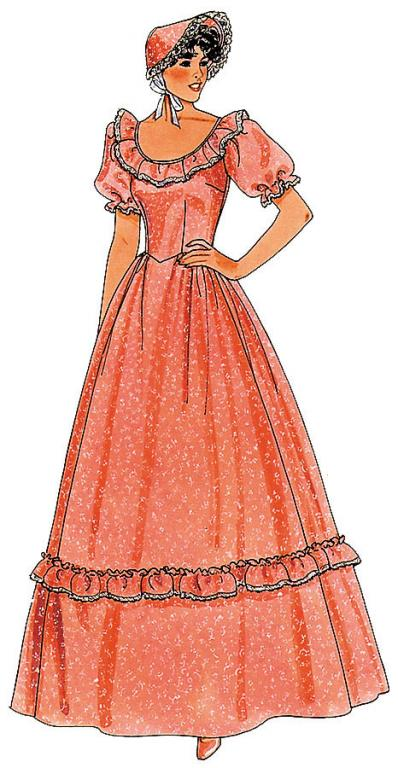 Pattern for Pioneer Dress: Size 18