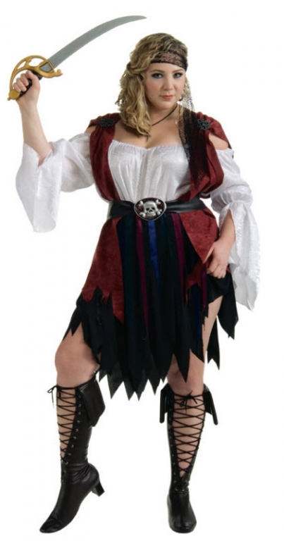 Carribean Pirate Queen Costume