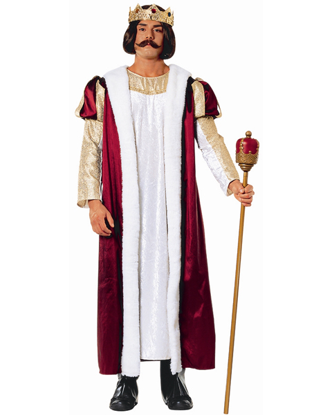Mens Plus Elegant King Costume