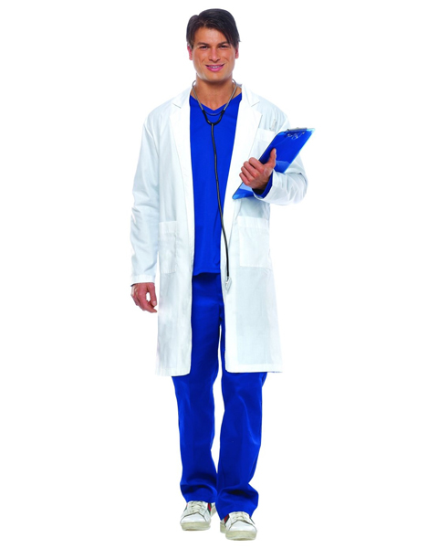 Mens Plus ER Doctor Costume