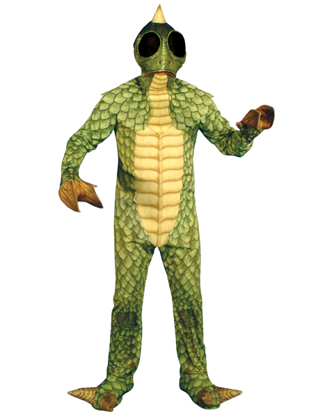 Mens Plus Size Land Of The Lost Sleestak Costume