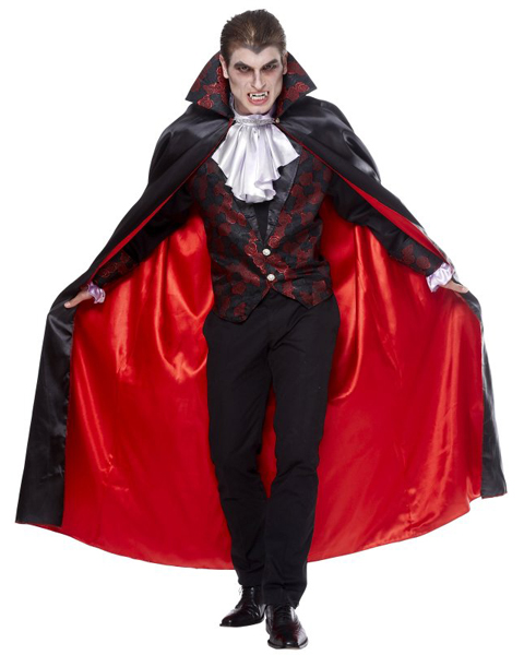 Mens Plus Vampire Costume