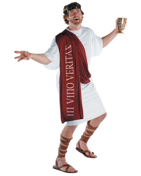 Adult Plus Size Dionysus The God of Wine