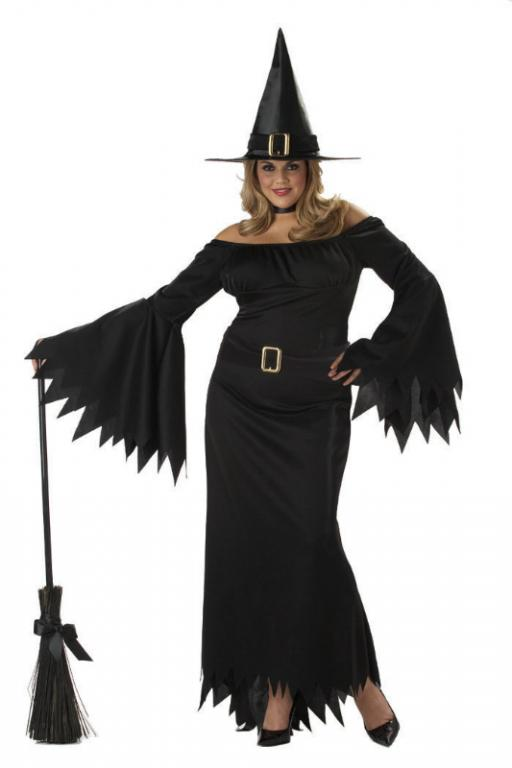 Elegant Witch Plus Size Adult Costume