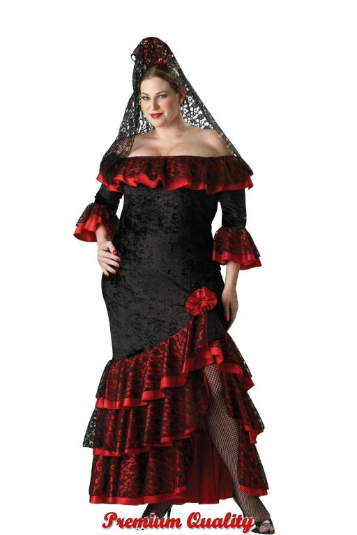 Senorita Plus Size Adult Costume