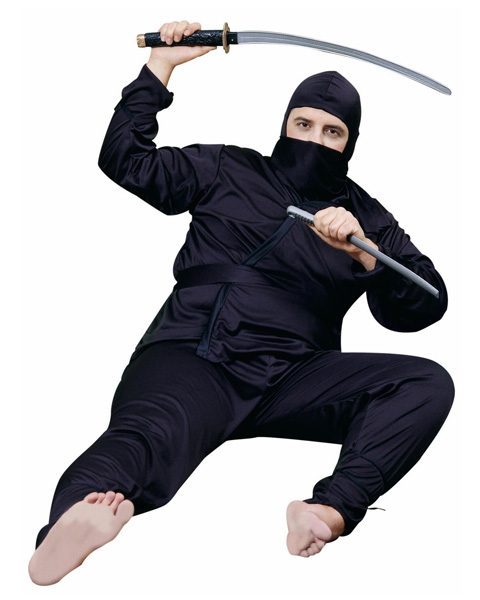 Ninja Plus Men's Costume