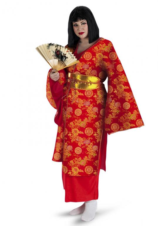 Geisha Plus Size Costume