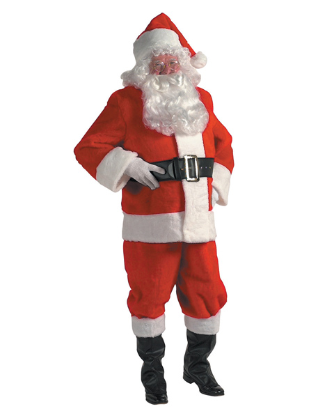XX Rental Quality Santa Suit Costume