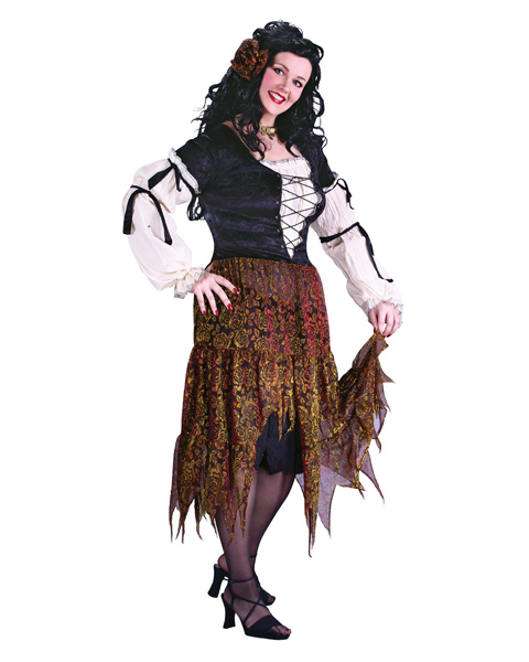 Plus Size Gypsy Rose Costume for Adult