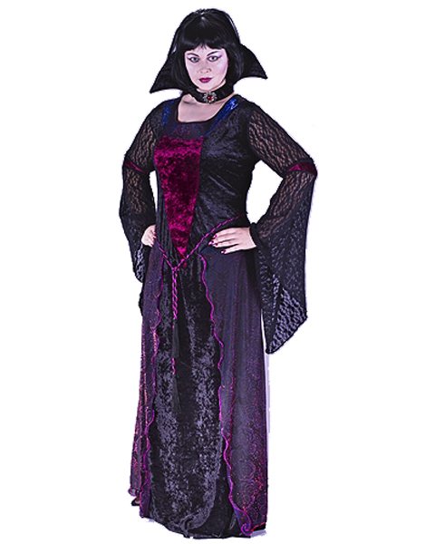 Womens Plus Size Vamptessa Costume