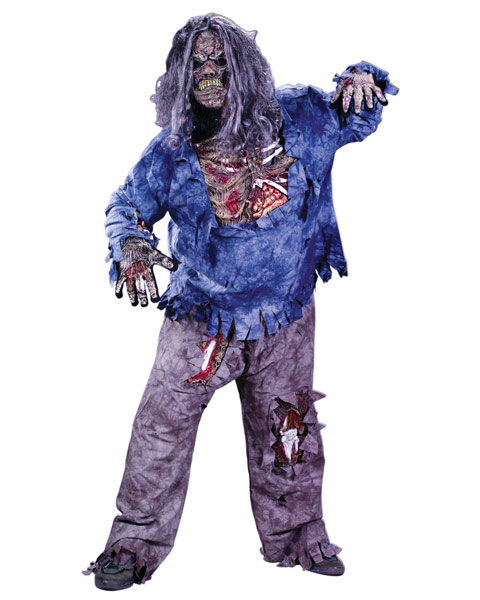 Plus Size Zombie Mens Costume