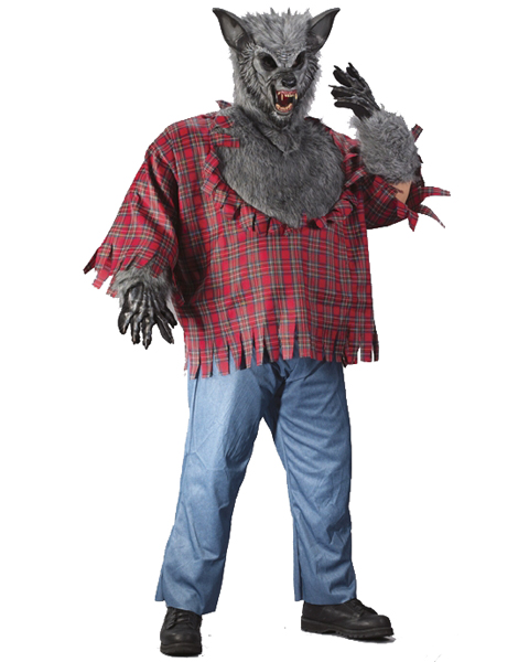 Mens Plus Size Werewolf Costume