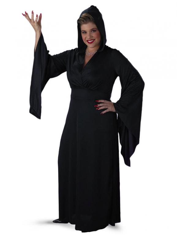 Hooded Robe Plus Size Costume