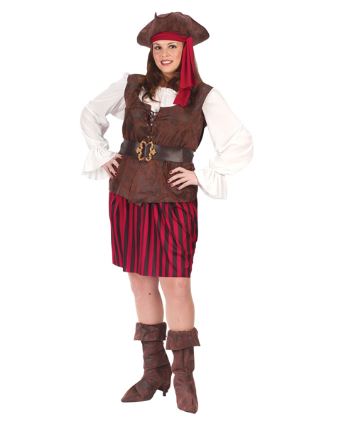 High Seas Buccaneer Adult Plus Costume