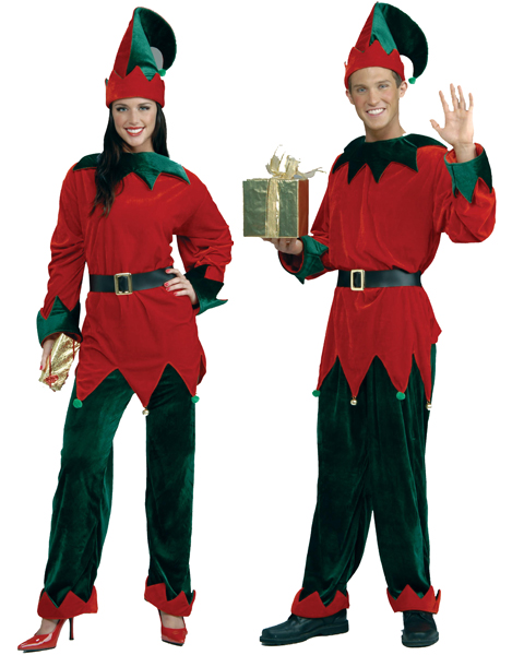 Plus Size Santas Helper Costume
