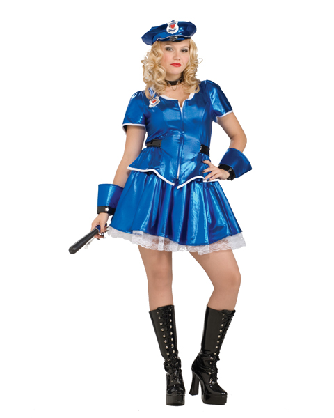 Adult Hottie Police Plus Costume