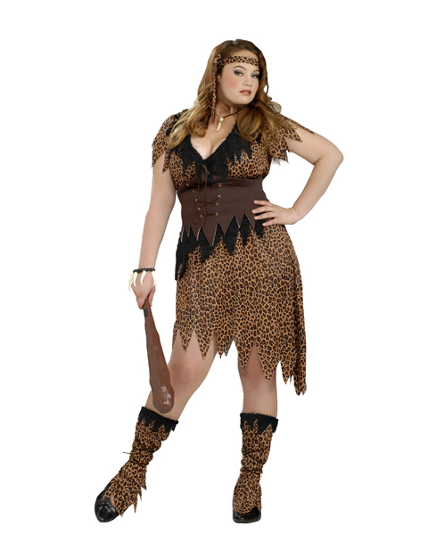 Cave Beauty Plus Size Costume for Women