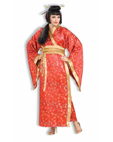 Adult Madame Butterfly Plus Costume