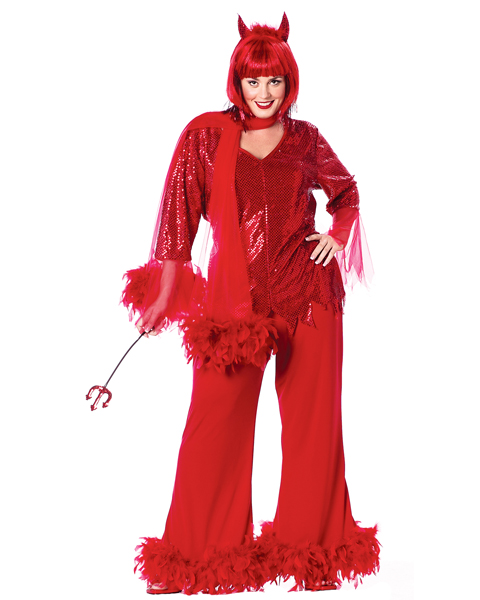 Red Hot Mama Plus Size Costume for Women
