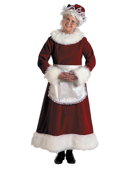 Mrs Claus Xl Costume For Adults