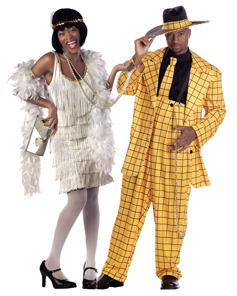 Couple Flapper Costume