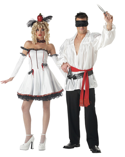 Adult Couples Tina the Target Costume - In Stock : About Costume Shop