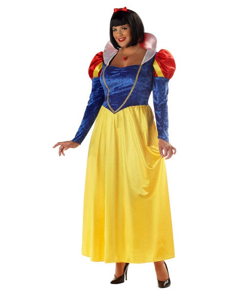 Womans Snow White Plus Costume