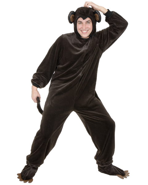 Mens Plus Size Monkey Costume