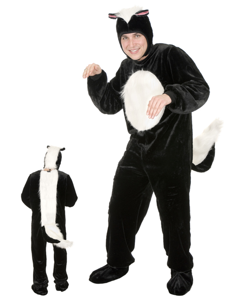 Mens Plus Size Skunk Costume