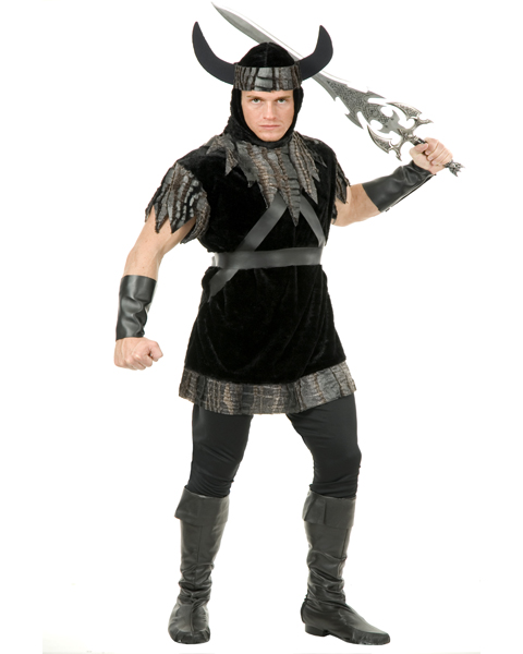 Mens Plus Size Viking Costume