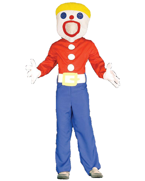 Mens Plus Size Mr. Bill Adult Costume