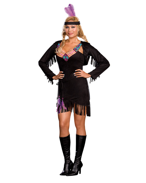 Sexy Makin Reservations American Indian Adult Plus Costume