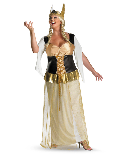 Adult Plus Size Valhalla Vixen Costume