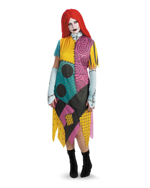 Adult Nightmare Before Christmas Sally Plus Costume