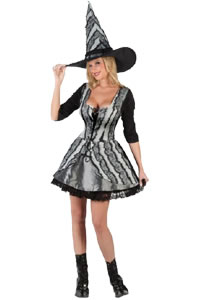 Goth Rose Witch Plus Size Adult Costume